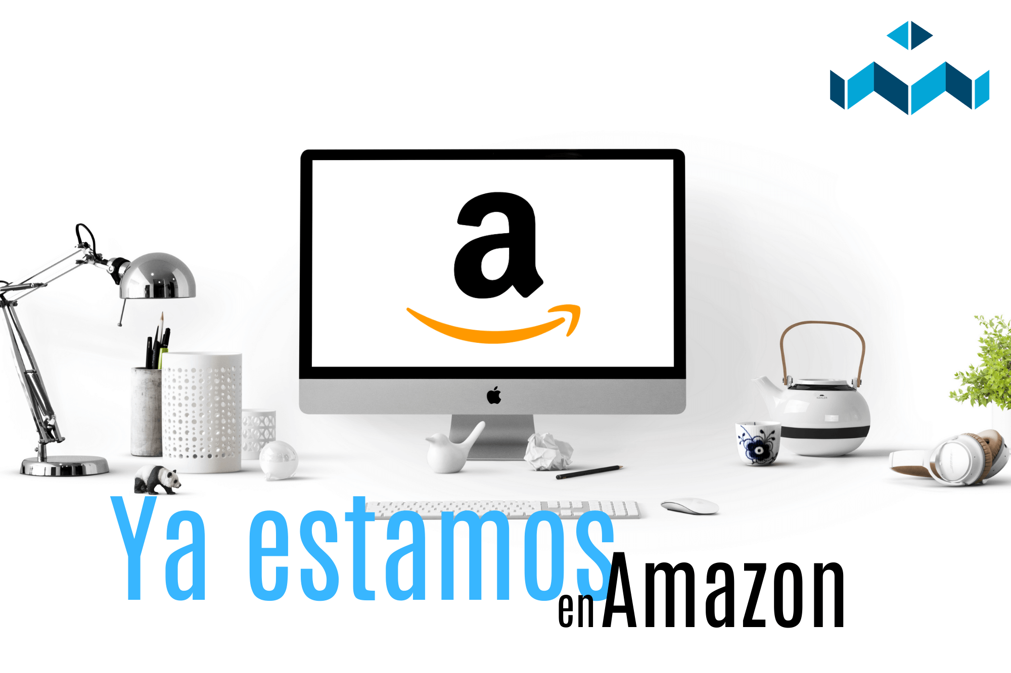 ¡Ya estamos en Amazon!