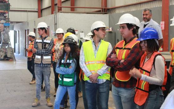 Visita Estudiantes a BMfundición